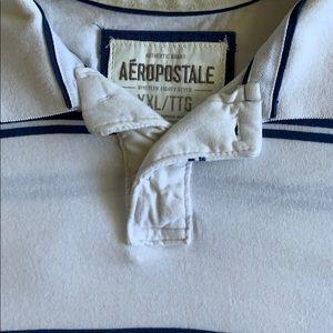 White Aeropostale polo